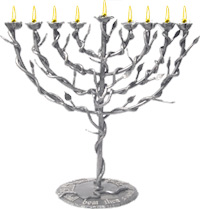 rockets into roses menorah